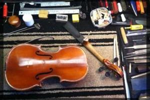 Photo #3: Santiago Violin Setup, Repair & Restoration Service
