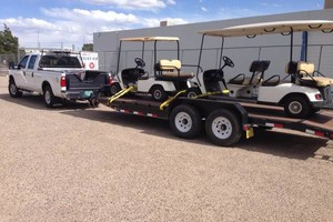 Photo #2: We haul vehicles, trailers, equipment, boats and much more!