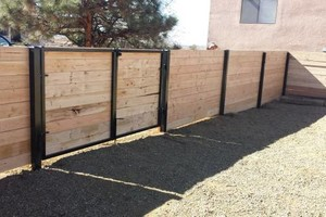 Photo #2: Need a fence? Stucco or welder?