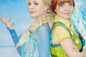 Photo #14: Hire inspired characters -Elsa and Anna