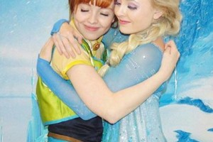 Photo #13: Hire inspired characters -Elsa and Anna
