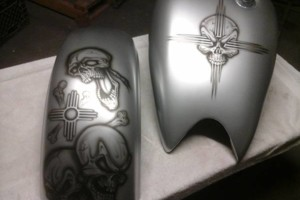 Photo #6: Motorcycle Painting/Airbrushing