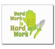 Photo #1: Yard work - clean yard trash/ cutting grass