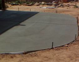 Photo #3: Del Valle Concrete Co.(free estimates)