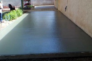 Photo #2: Del Valle Concrete Co.(free estimates)