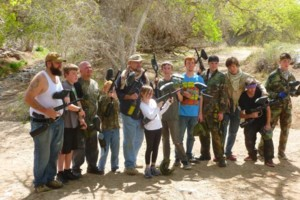 Photo #5: Paintball Parties -  $35 / 500 paintballs