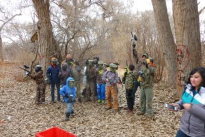 Photo #1: Paintball Parties -  $35 / 500 paintballs