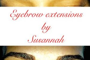 Photo #1: EYELASH & EYEBROW EXTENSIONS!!!