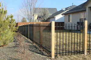 Photo #4: Pipe Fence - Wrought Iron