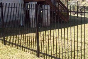 Photo #3: Pipe Fence - Wrought Iron