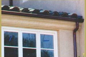 Photo #5: Services Unlimited. Seamless aluminum gutters