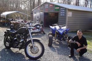 Photo #2: Andys Powersports. Motorcycle Repair