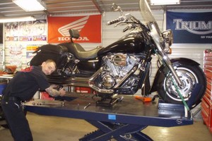 Photo #1: Andys Powersports. Motorcycle Repair