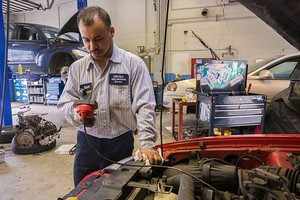 Photo #1: VERY AFFORDABLE BRAKE JOBS & TUNE UPS DOMESTIC AND FOREIGN VEHICLES