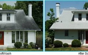 Photo #1: Apex Soft House Washing &  Roof/Gutter Cleaning