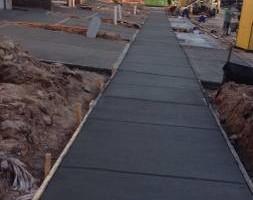 Photo #14: Mix Construction Concrete Inc. CONCRETE FLAT WORK.