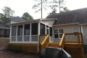Photo #2: GARAGES....SCREEN PORCHES (Lic. Builder)