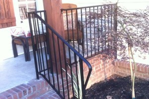 Photo #3: Wrought iron porch rails