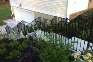 Photo #2: Wrought iron porch rails