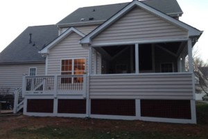 Photo #9: Triangle Deck Builders. DECKS & SCREEN PORCHES