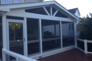 Photo #6: Triangle Deck Builders. DECKS & SCREEN PORCHES