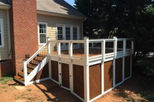 Photo #2: Triangle Deck Builders. DECKS & SCREEN PORCHES
