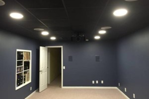 Photo #1: ACOUSTICAL CEILING INSTALLATION. RESIDENTIAL/COMMERCIAL