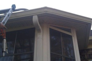 Photo #4: Seamless Rain Gutters. Spring specials!