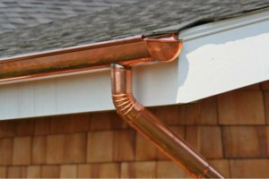 Photo #6: Seamless Rain Gutters. Spring specials!