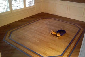 Photo #1: HARDWOOD FLOORING. DOCTOR REFINISHER PLUS REPAIRS