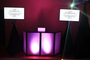 Photo #1: DJ, Free Uplights, Photo Booth, Ceremony & Reception = $750