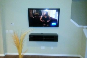 Photo #3: TV Mounted Today By A Skilled Installer! Mount Man Installations