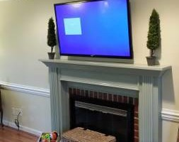 Photo #2: TV Mounted Today By A Skilled Installer! Mount Man Installations