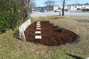 Photo #1: MULCH - N&N Lawn Care