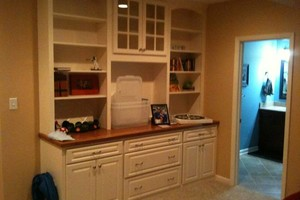 Photo #12: Book Cases/ Trim / Cabinetry/ kitchen and Bath