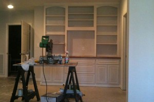 Photo #11: Book Cases/ Trim / Cabinetry/ kitchen and Bath