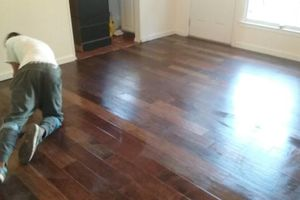 Photo #1: Hardwood and Laminate Installation