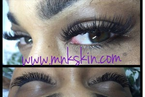 Photo #3: Eyelash extensions Only $75.. BOOK TODAY - MKN skin!