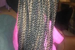 Photo #1: Hair Specials! BOX BRAIDS $65