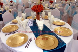 Photo #12: Frances Wedding Decorator & Design /Draping/Accent Lighting / Dinnerware...
