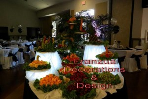 Photo #11: Frances Wedding Decorator & Design /Draping/Accent Lighting / Dinnerware...