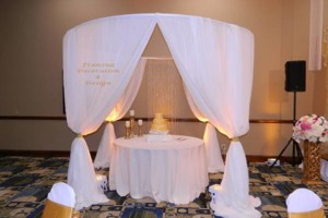 Photo #5: Frances Wedding Decorator & Design /Draping/Accent Lighting / Dinnerware...