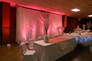Photo #2: Frances Wedding Decorator & Design /Draping/Accent Lighting / Dinnerware...