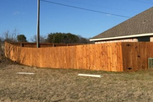 Photo #4: Rocking W Fence and Staining