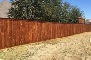 Photo #1: Rocking W Fence and Staining