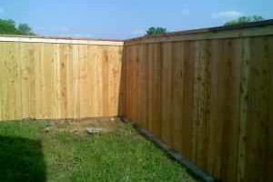 Photo #2: Fence Installation & Repair - wood/ vinyl/ chainlink/ iron/ silt