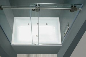 Photo #1: IMPERIAL GLASS TX. SHOWER GLASS...