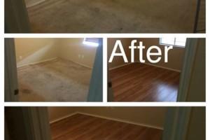 Photo #1: Keller home renovation. Laminate flooring done right
