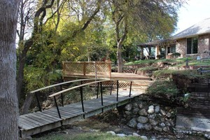 Photo #1: Proper Deck and Fence - Outdoor living, treehouses, Patios, carpentry