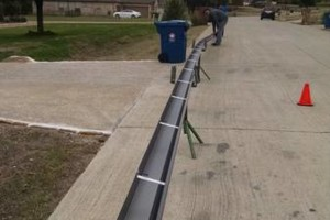 Photo #10: Seamless gutters -  $2.85 per ft